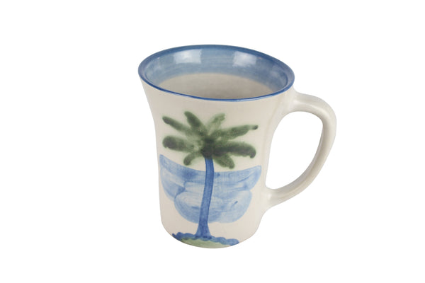 Personalized 12 Oz. Flare Mug - Palm Tree