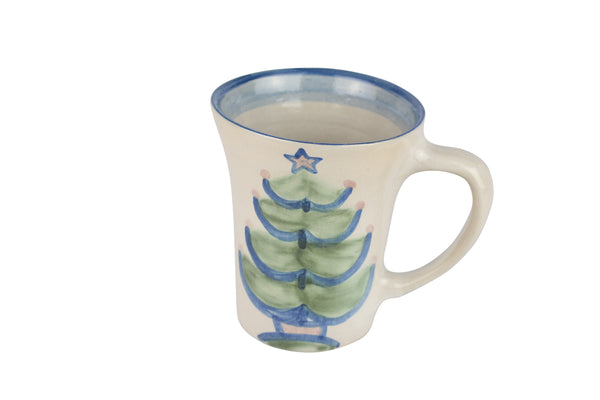 12 Oz. Flare Mug - Christmas Tree