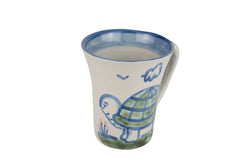 Personalized 12 Oz. Flare Mug - Turtle