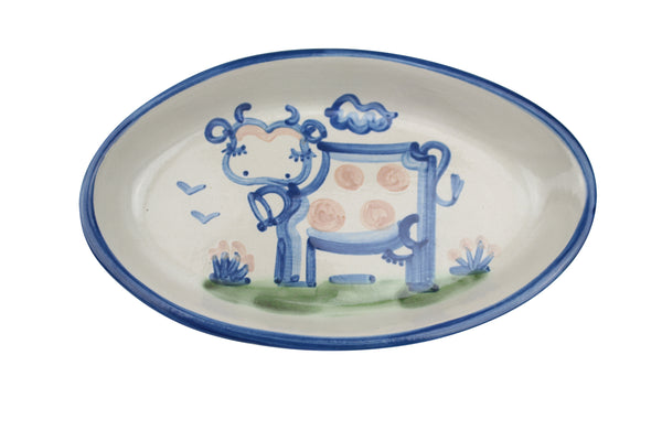 "10.5"" Oval Platters - Cow"