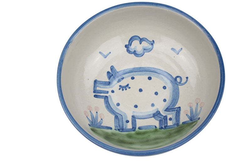 "8"" Regular Bowls - Pig"