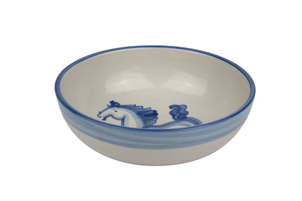 "8"" Regular Bowls - Blue Horse"