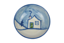 "8"" Regular Bowl - Winter Cottage"