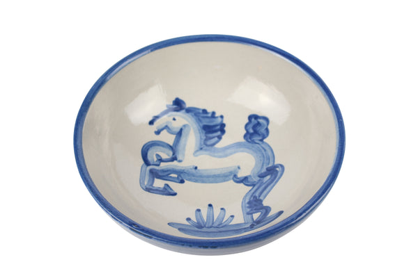 "7"" Regular Bowls - Blue Horse"