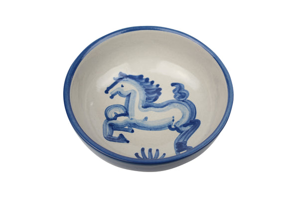 "5"" Regular Bowls - Blue Horse"