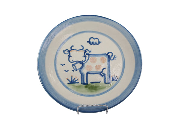 "11"" Dinner Plate - Cow"