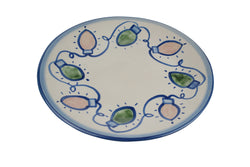 "11"" Dinner Plate - Holiday Lights"