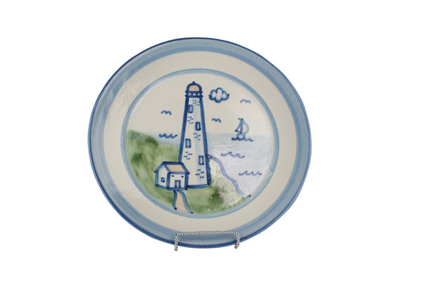 "11"" Dinner Plate - Lighthouse"