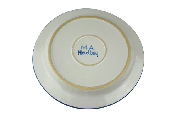 "13"" Round Plate - House"