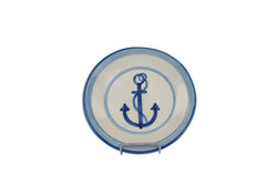 "9"" Lunch Plate - Anchor"