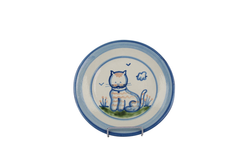 "9"" Lunch Plate - Cat"