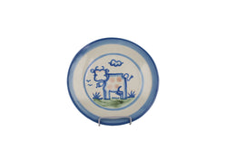 "9"" Lunch Plate - Cow"
