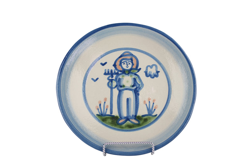 "9"" Lunch Plate - Farmer"