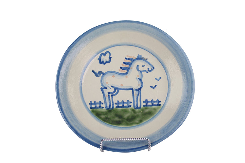 "9"" Lunch Plate - Horse"