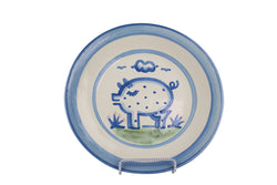 "9"" Lunch Plate - Pig"