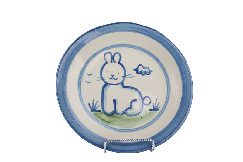 "9"" Lunch Plate - Rabbit"