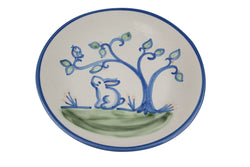 "9"" Lunch Plate - Bunny Under Tree"