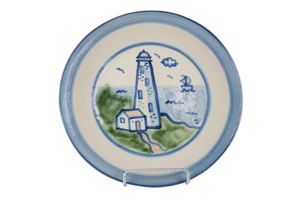 "9"" Lunch Plate - Lighthouse"