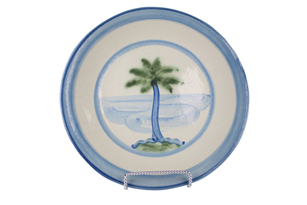 "9"" Lunch Plate - Palm Tree"