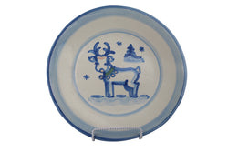 "9"" Lunch Plate - Reindeer"