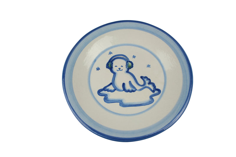 "9"" Lunch Plate - Seal"