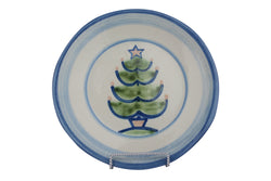 "9"" Lunch Plate - Christmas Tree"
