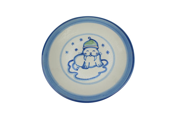 "9"" Lunch Plate - Walrus"