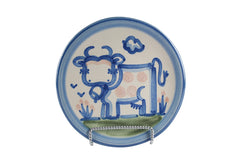 "6"" Bread Plate - Cow"