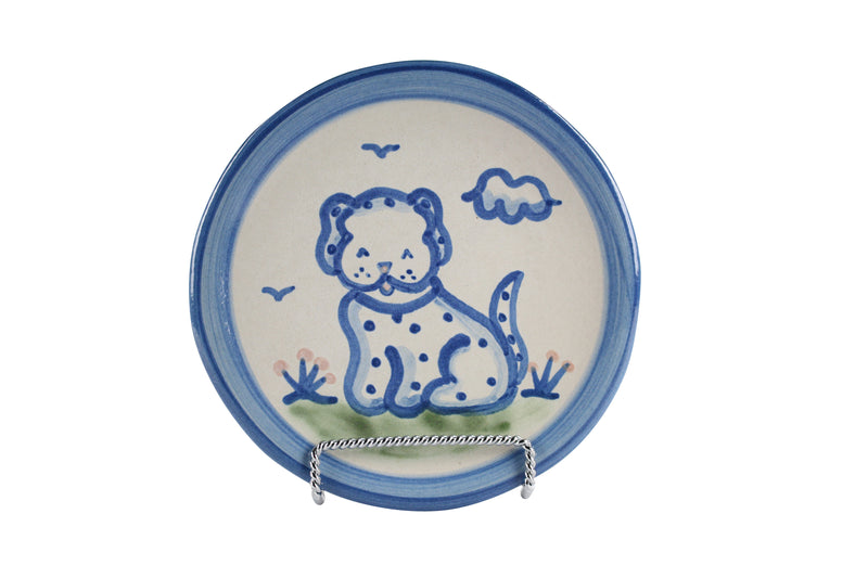 "6"" Bread Plate - Dog"
