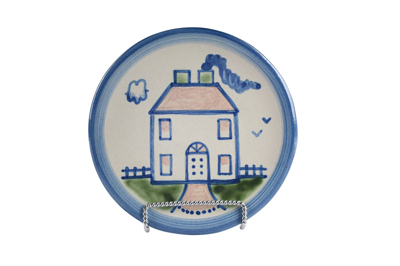 "6"" Bread Plate - House"