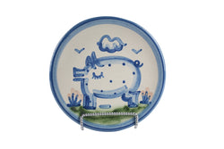 "6"" Bread Plate - Pig"