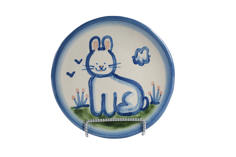 "6"" Bread Plate - Rabbit"