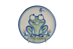 "6"" Bread Plate - Frog"