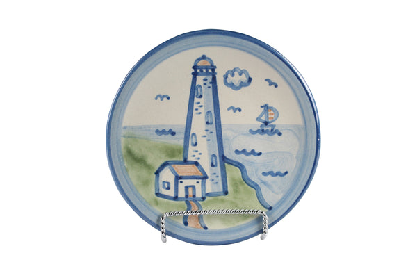"6"" Bread Plate - Lighthouse"