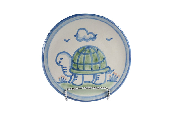 "6"" Bread Plate - Turtle"