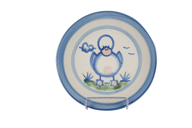 "7.5"" Salad Plate - Duck"