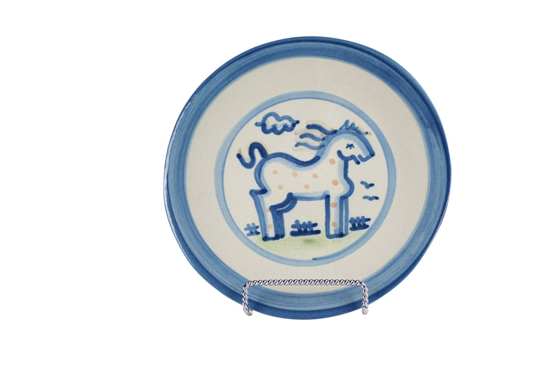 "7.5"" Salad Plate - Horse"