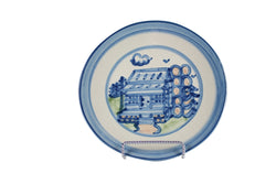 "7.5"" Salad Plate - Log Cabin"
