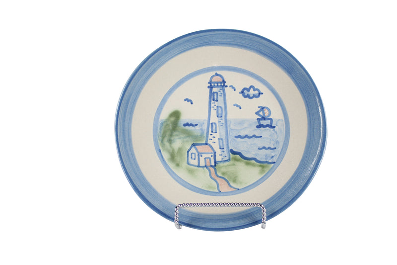 "7.5"" Salad Plate - Lighthouse"