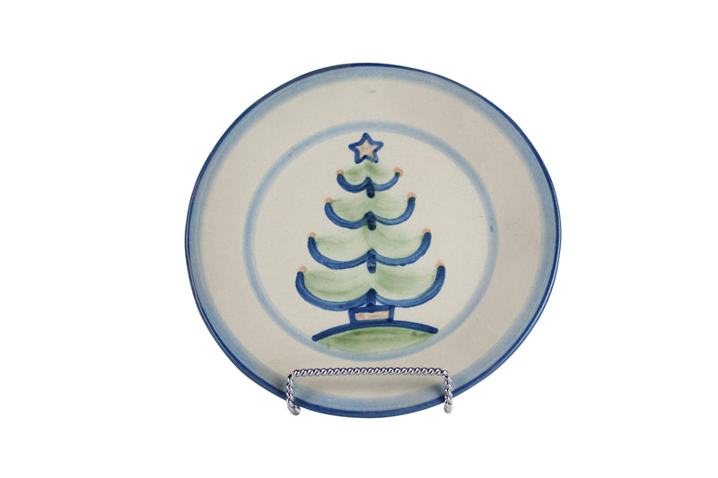 "7.5"" Salad Plate - Christmas Tree"
