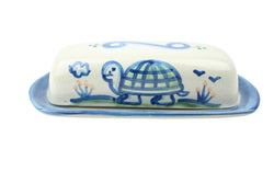 Butter Dish Lid With Base - Turtle