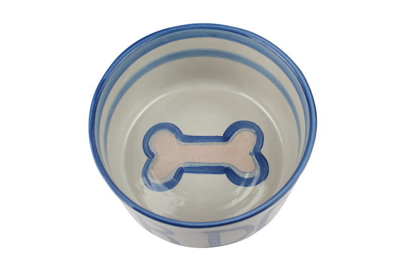Giant Dog Bowl - Woof! Wag! Bark!