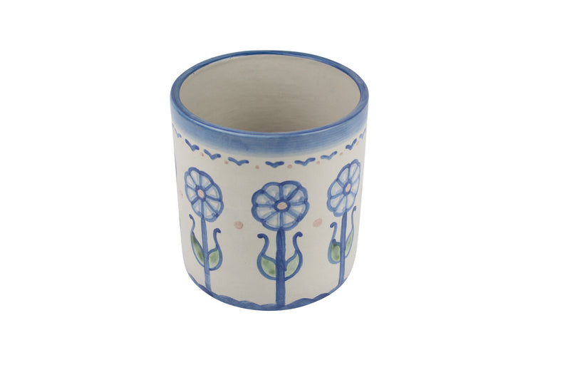 "5.5"" Utensil Jar - Flower Garden"