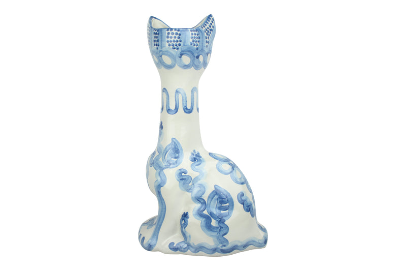 Cat Vase - Facing Right