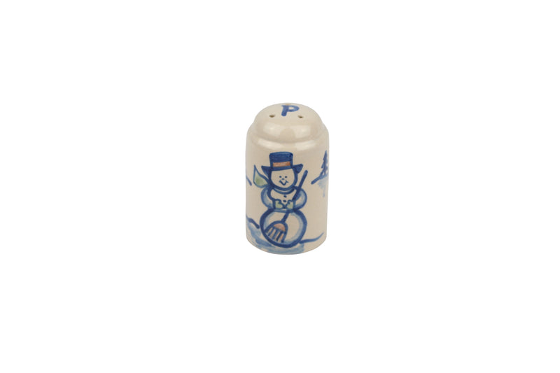 Small Shaker - Snowman (Pepper Shaker)