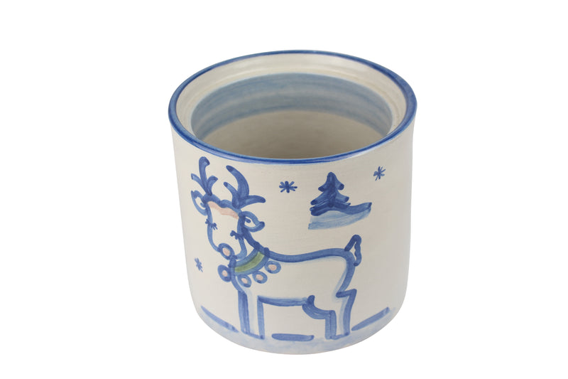 Small Jar Base Only - Reindeer
