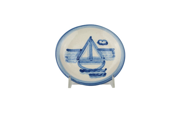 "4"" Coaster - Sailboat"