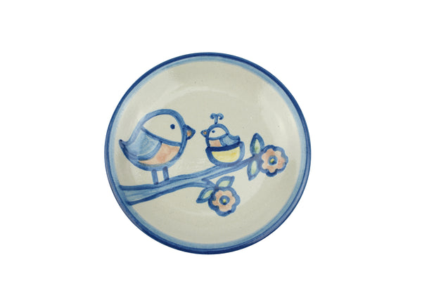 "4"" Coaster - Mom With 2 Birds"