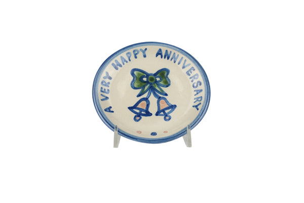 "4"" Coaster - Happy Anniversary"