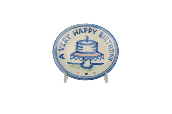 "4"" Coaster - Happy Birthday"